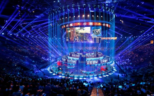 O número de campeonatos nacionais de jogos nos Estados Unidos aumentou nos últimos anos