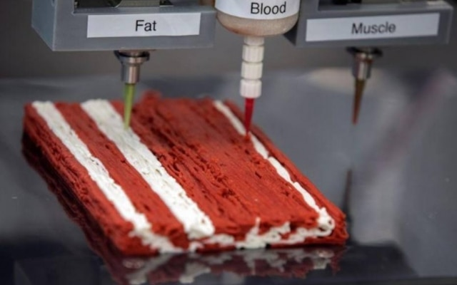 Bife 3D da startup Redefine Meat