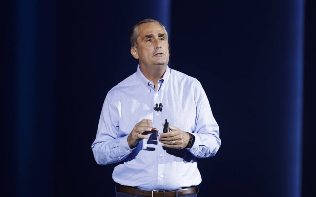 Brian Krzanich estava na Intel desde 1982