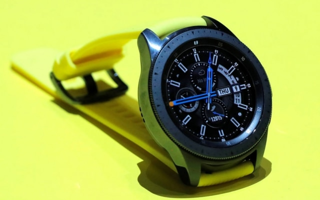 Lançadapela Samsung no ano passado, primeira versão do Galaxy Watch tem opções com 42 ou 46 milímetros