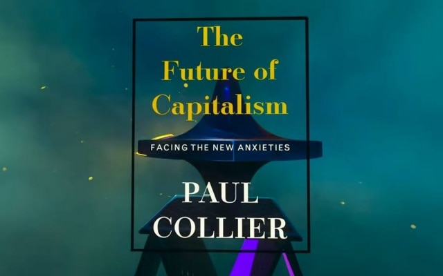 "Livro ""The Future of Capitalism"", by Paul Collier"