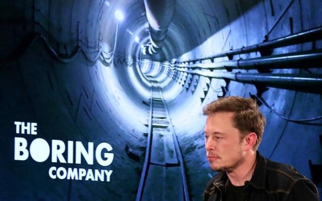 Elon Musk anuncioupara dezembro os primeiros testes em túnel da Boring Company