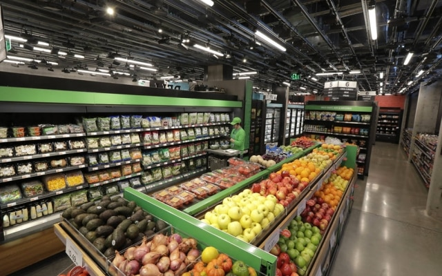 A loja aberta em Seattle é o primeiro supermercado da empresa