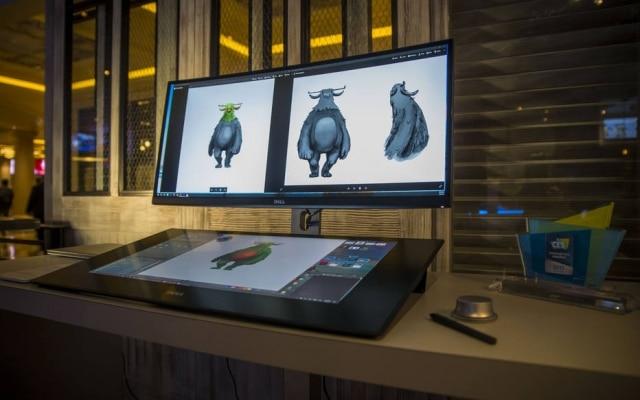 O computador Canvas, lançado pela Dell, dispensa teclado e oferece uma tela sensível ao toque que pode receber desenhos e escrita à mão