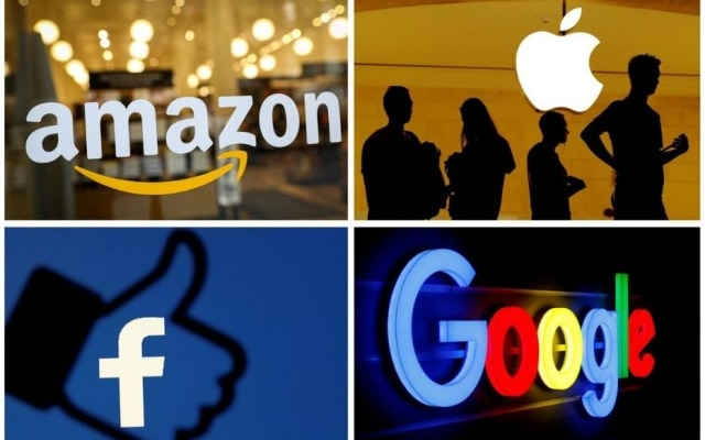 Congresso quer documentos internos de Amazon, Apple, Facebook e Google
