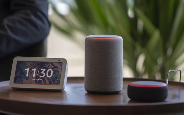 Linha.Echo Show, Echo e Echo Dot são as três caixas de som conectadas da Amazon que chegam ao País até novembro