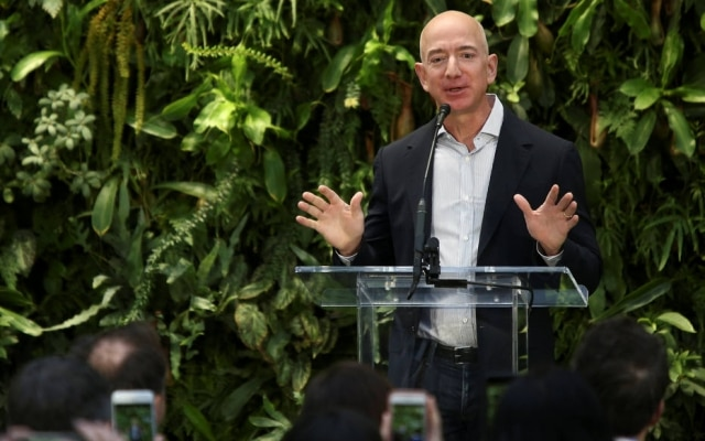 Jeff Bezos, fundador da Amazon