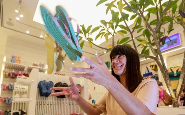 Lá fora.Em 2020, Havaianas, de Fernanda, vai abrir loja 'digital' em Londres