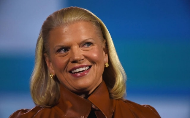 Ginni Rometty, presidente executiva da IBM