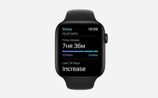 O watchOS 7, sistema operacional dos relógios inteligentes da Apple, realiza monitoramento do sono