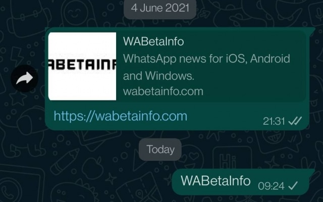 Em mudança sutil no design, balões de mensagens no WhatsApp terão borda arredondada, e não mais quadrangulares