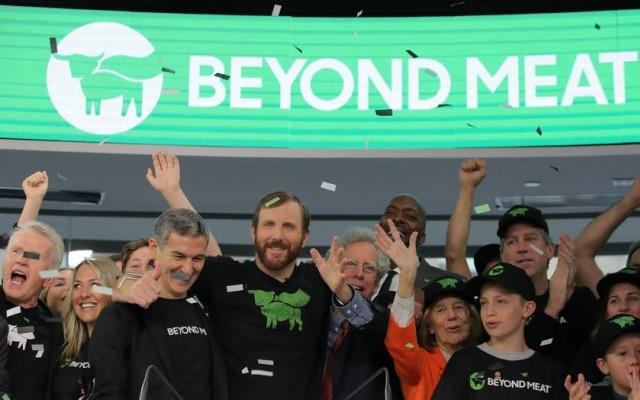 Ações da Beyond Meat valorizaram quase 200% no primeiro dia de pregão