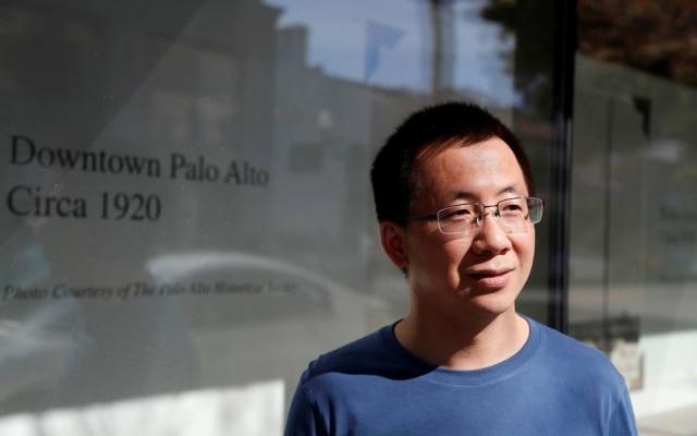 Zhang Yiming, presidente executivo da ByteDance, era um ex-funcionário da Microsoft