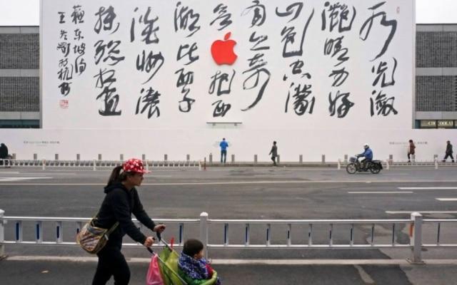 A China é hoje o segundo maior mercado da Apple, logo atrás dos Estados Unidos