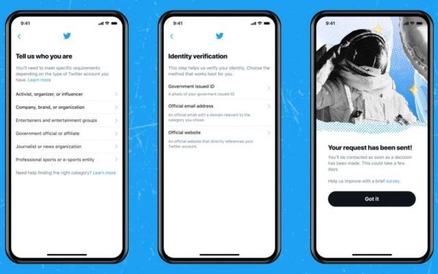 Twitter esclareceu quais os critérios para requerer a verificação de conta na rede social