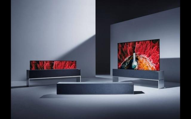 Apresentada na CES, nova TV da LG tem tela dobrável