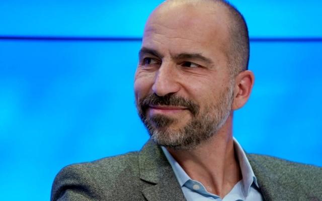 Dara Khosrowshahi é presidente do Uber
