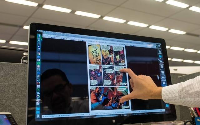 Computadores alterarama relação artística e financeira dentro dos quadrinhos