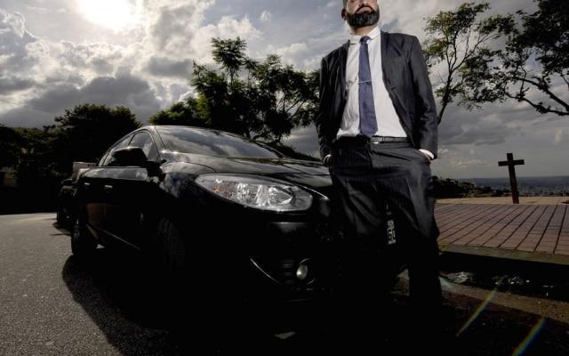 Ferreira foi motorista por 16 anos, entre táxi e serviços executivos antes de entrar na Uber
