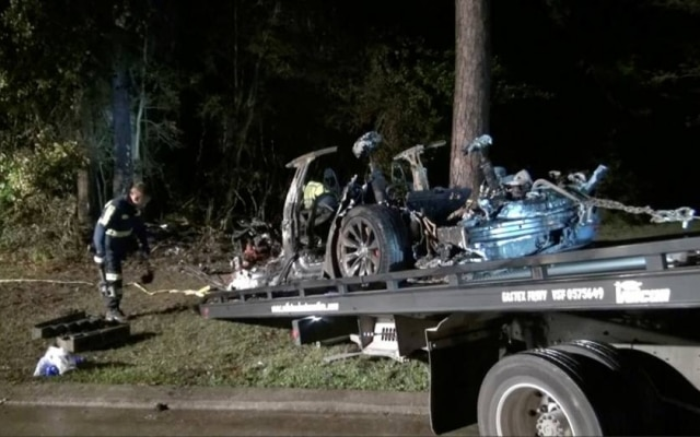 O acidente ocorreu com um Tesla Model S, de 2019, ao norte da cidade de Houston