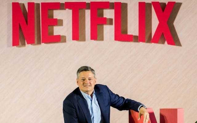 Ted Sarandos, diretor de conteúdo da Netflix