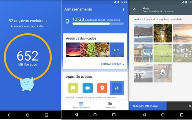 Aplicativo é exclusivo para o Android