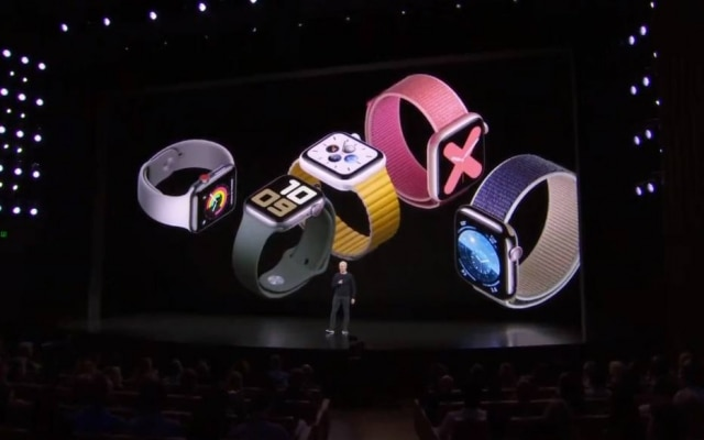 Apple anuncia quinta geração do Apple Watch