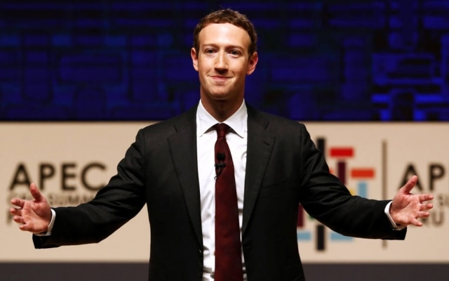 Mark Zuckerberg é presidente do Facebook