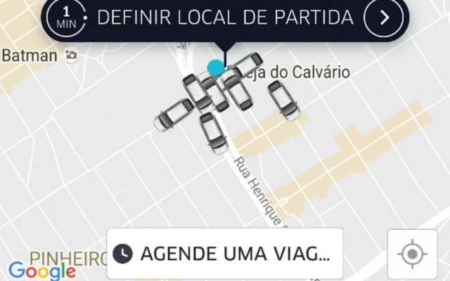 Botão 'Agendar Uma Viagem' vai aparecer na tela inicial do aplicativo