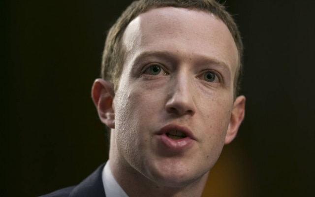 Mark Zuckerberg é presidente executivo do Facebook