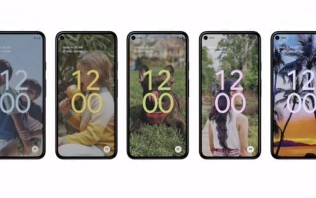 Uma das apostas do Android 12 é personalizar as telas, com mudança de cores e opções de ícones para os usuários