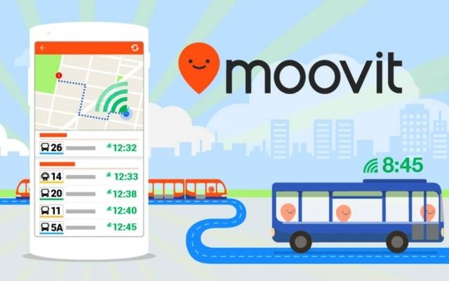 O Moovit é uma plataforma social e colaborativa que monitora dados de linhas de ônibus, trem e de metrô e apresenta para os usuários os melhores trajetos via transporte público.