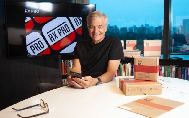 Martin Nelzow é o fundador da RX Pro, startup que une médicos e laboratórios farmacêuticos