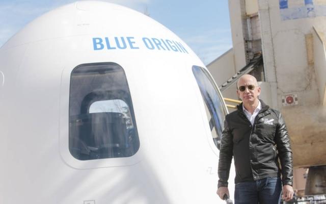 A primeira viagem espacial da Blue Origin, empresa que pertence a Jeff Bezos, vai custar caro