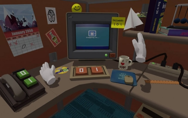 Game Job Simulator é da Owlchemy Labs