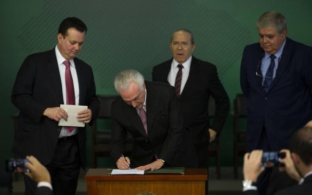 Temer assina a Lei Geral de Proteção de Dados Pessoais; projeto foi discutido por oito anos, com grande participação pública