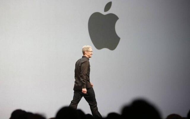 Tim Cook, presidente executivo da Apple, durante o WWDC 2013, em San Francisco, EUA