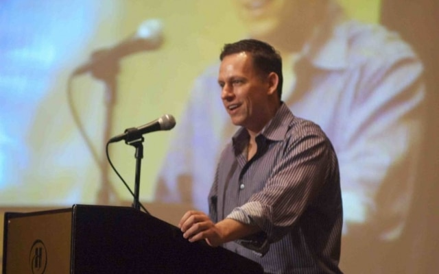 Peter Thiel, cofundador do PayPal, foi um dos primeiros grandes investidores do Facebook.