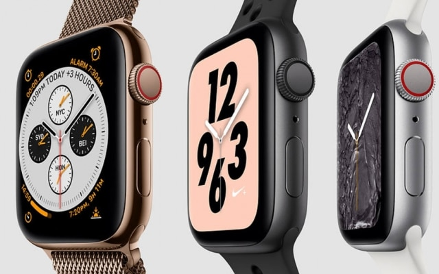 Já o Apple Watch 4 está a venda a partir de R$ 4 mil
