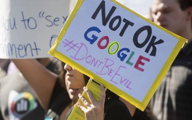 Movimento lideradopor funcionárias do Google contra assédio sexual aconteceu em 47 escritórios da empresa pelo mundo