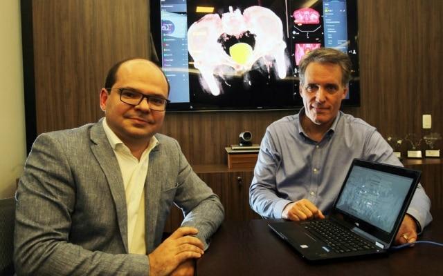 Januzzi (esq.), da Microsoft, e Natel, da Oncoclínicas, se uniram contra o câncer