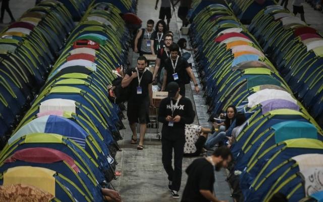A 12ª edição da Campus Partyespera receber mais de 130 mil visitantes