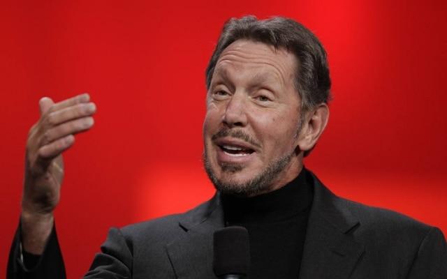 Larry Ellison é presidente executivo e fundador da Oracle