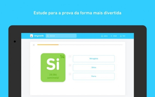 Aplicativo da Duolingo para memorizar assuntos diversos através de cartas é traduzido para português.