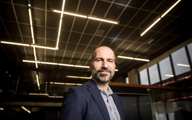 Dara Khosrowshashi é presidente do Uber