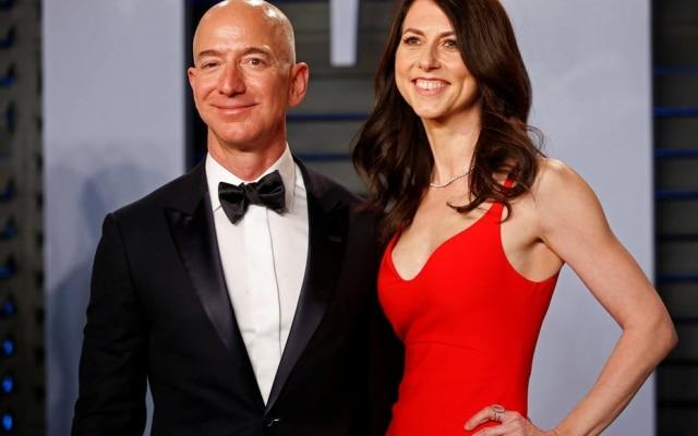 Fundador da Amazon,Jeff Bezos, e a ex-mulher, MacKenzie Bezos