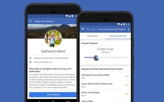 O serviço Mentorship do Facebook pretende conectar as pessoas que precisam de ajuda às que podem ajudar