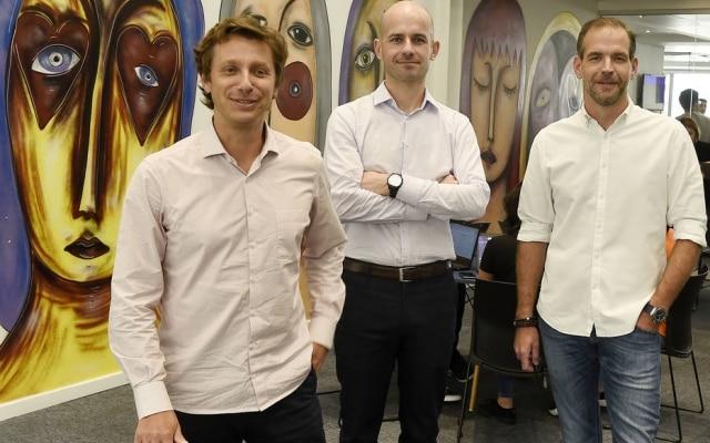 Trio.Voigt, Del Valle e Ruiz criaram a Ebanx em 2012, em Curitiba