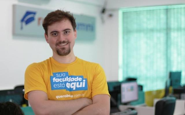 Bernardo de Pádua, presidente executivo da Quero Educação