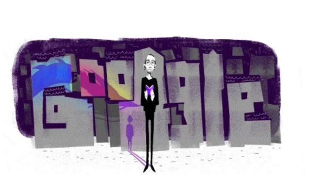 Caio Fernando Abreu é homenageado no Doodle do dia